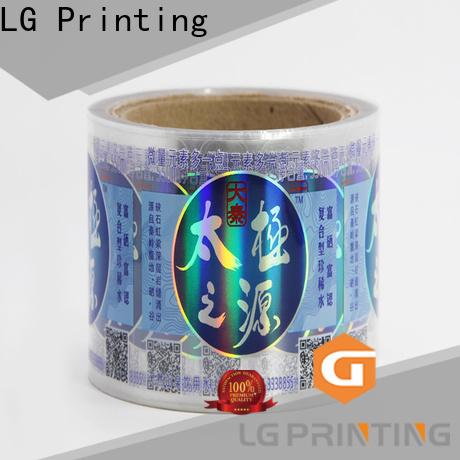 LG Printing fast custom labels