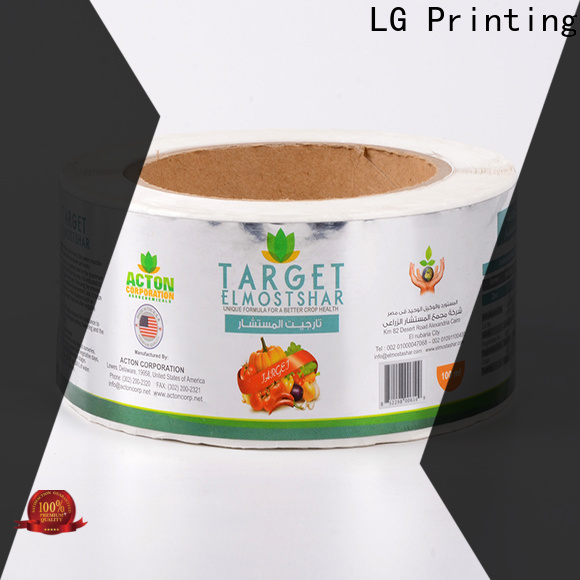hologram thermal printing labels red series for bottle