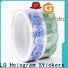 hologram wholesale packaging supplies foil supplier for bottle