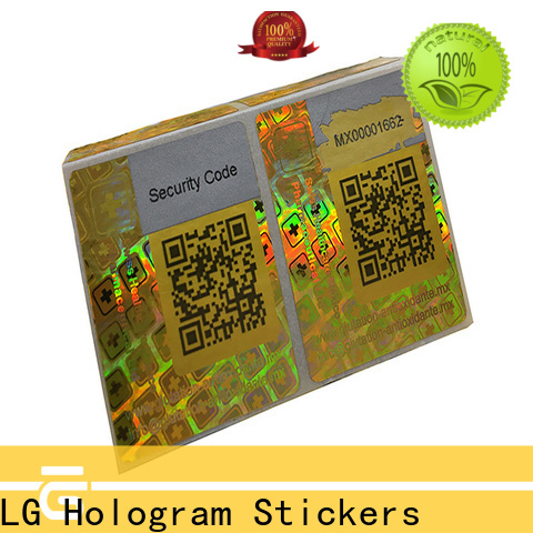 LG Printing silver wine label printing companies label for door