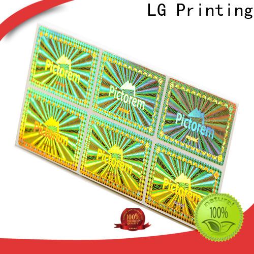 LG Printing colorful snapchat qr code reader logo for box
