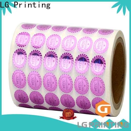 LG Printing colorful are qr codes effective manufacturer for table