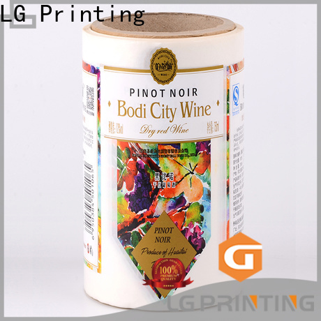 LG Printing silver label applicator supplier for cans