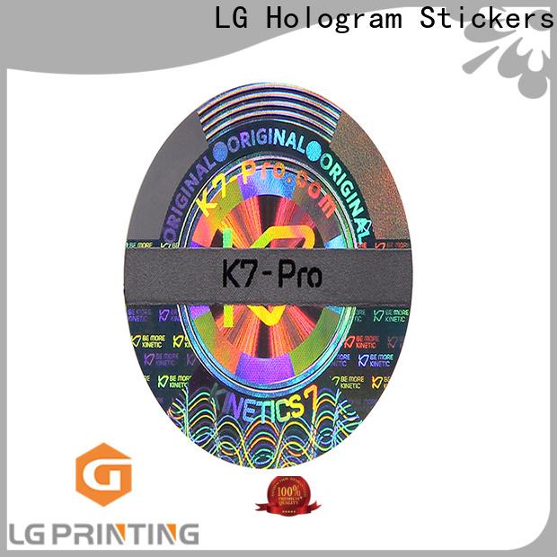 LG Printing void define stickers supplier for door
