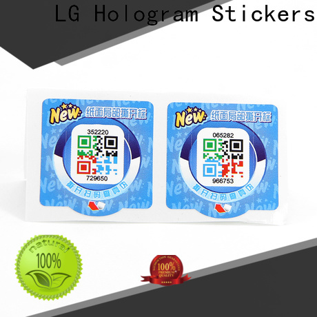 Custom hologram sticker printing manufacturers for products