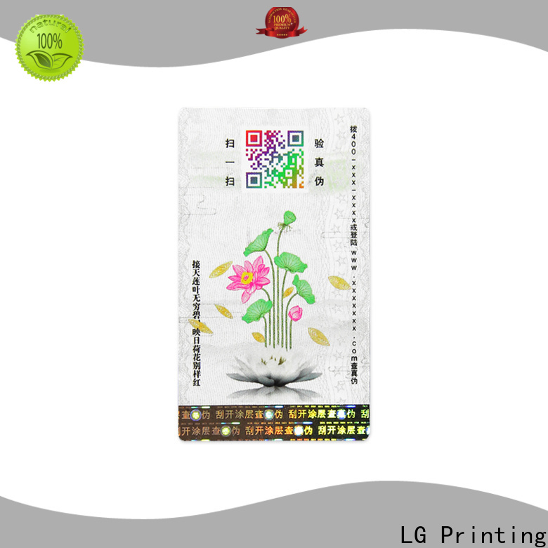 Custom custom product label printing Supply for products