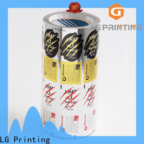 LG Printing bopp label dispenser factory for bottle