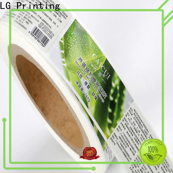LG Printing silver protective packaging manufacturer for wine bottle
