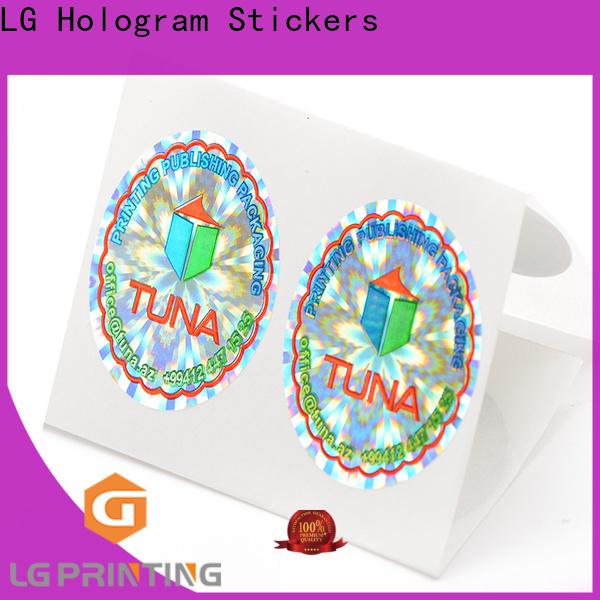 authentic authentic hologram stickers numbering manufacturer for table