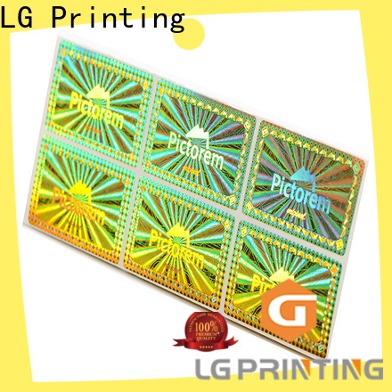 LG Printing colorful hologram printing supplier for door