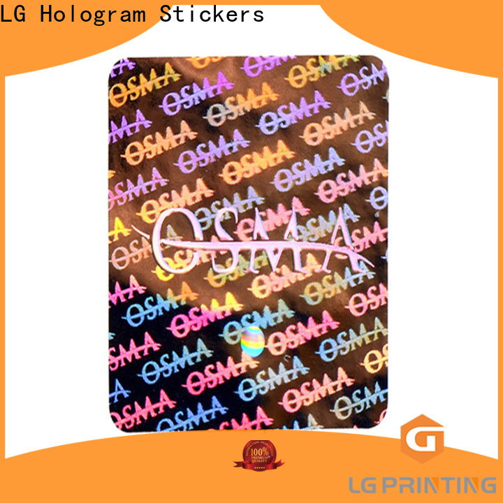 void holographic sticker sheet scratched supplier for box