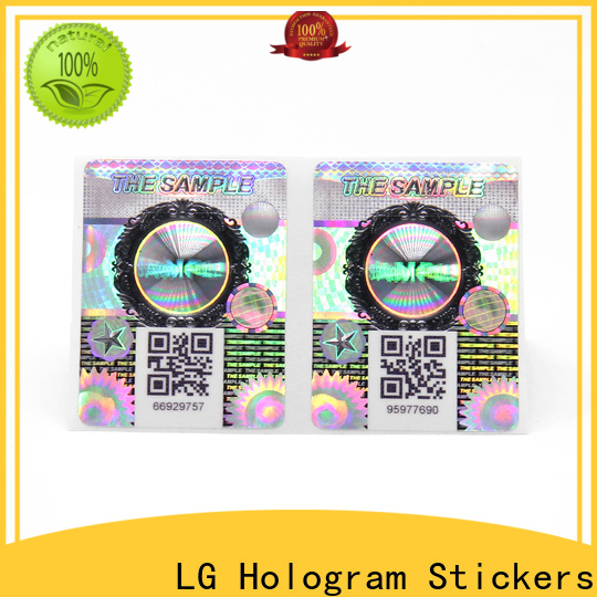 LG Printing adhesive label sticker Suppliers for products