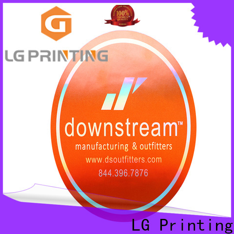 LG Printing Top holographic vinyl sticker Suppliers