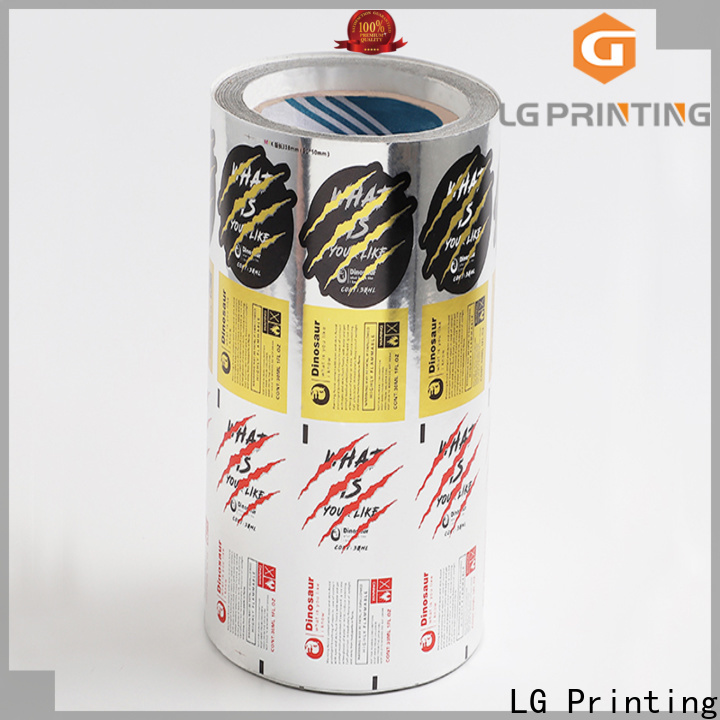 LG Printing glossy innovative packaging factory for cans