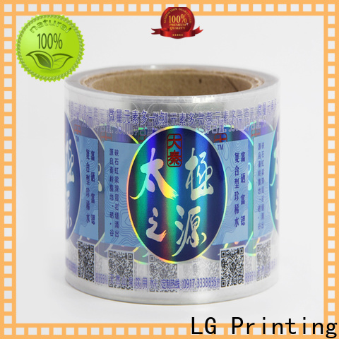 Best custom holographic stickers for business