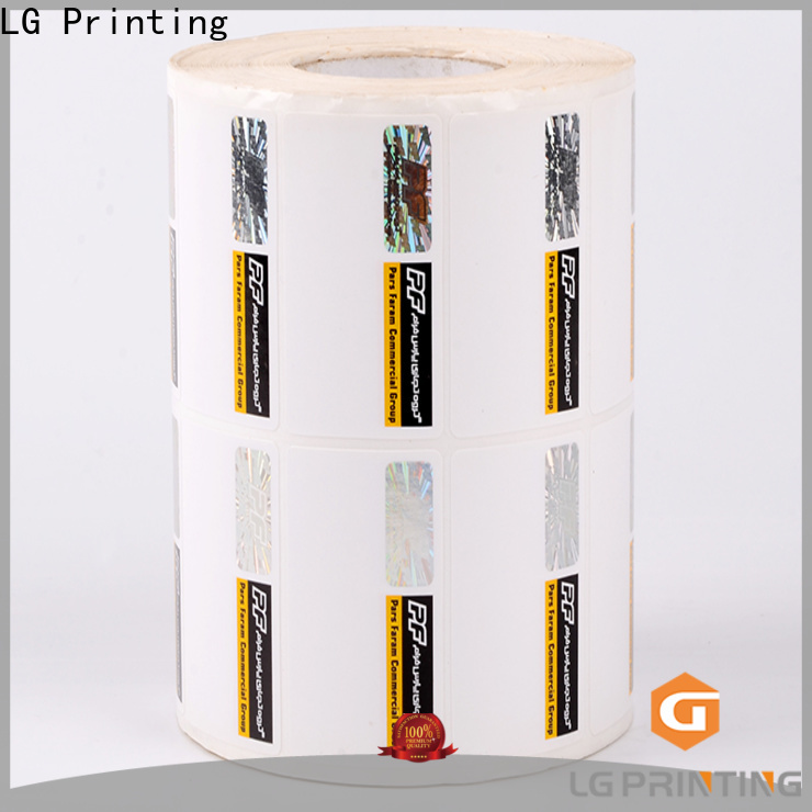 counterfeiting secure print 121 series for bag