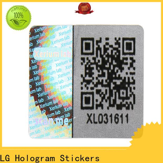 LG Printing various gold foil transparent sticker manufacturer for refrigerator