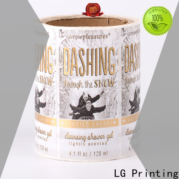 LG Printing silver packaging solutions manufacturer for bottle