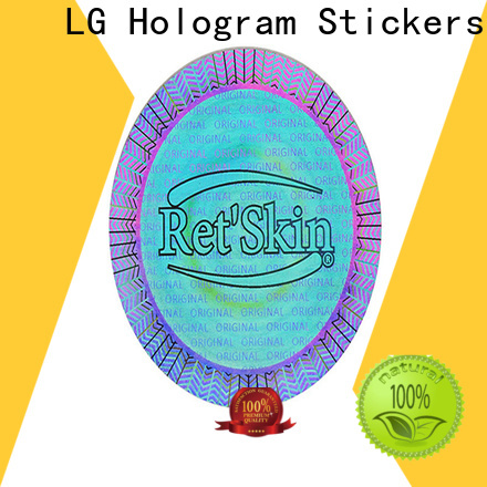 colorful hologram sticker printer numbering supplier for door