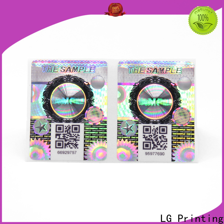 LG Printing New waterproof labels for jars Supply for bag