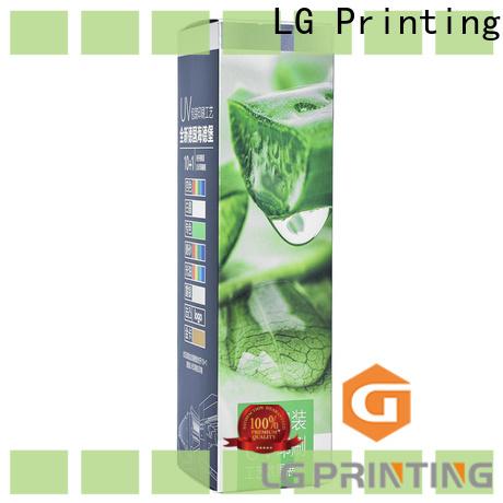 LG Printing Wholesale box printing services factory