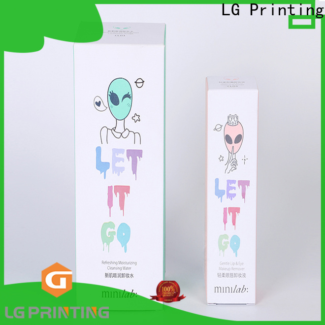 LG Printing Top color box printing Supply