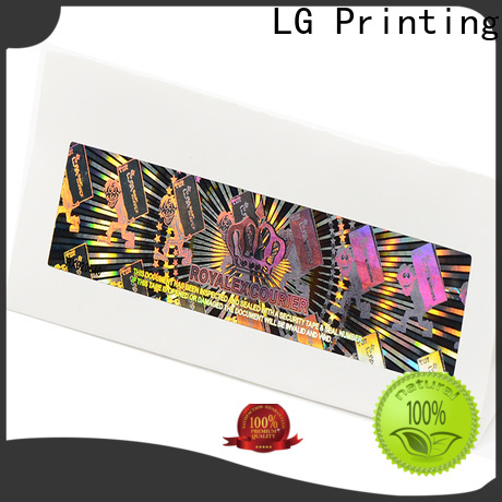 LG Printing scratch off adhesive sticker paper supplier for door