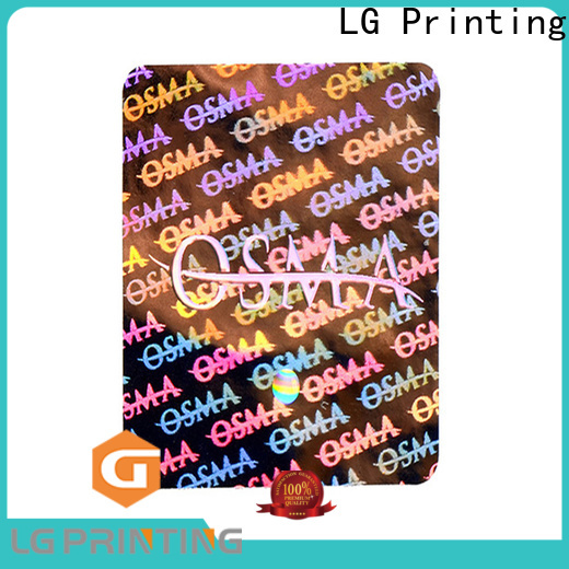 LG Printing silver holographic film supplier for box
