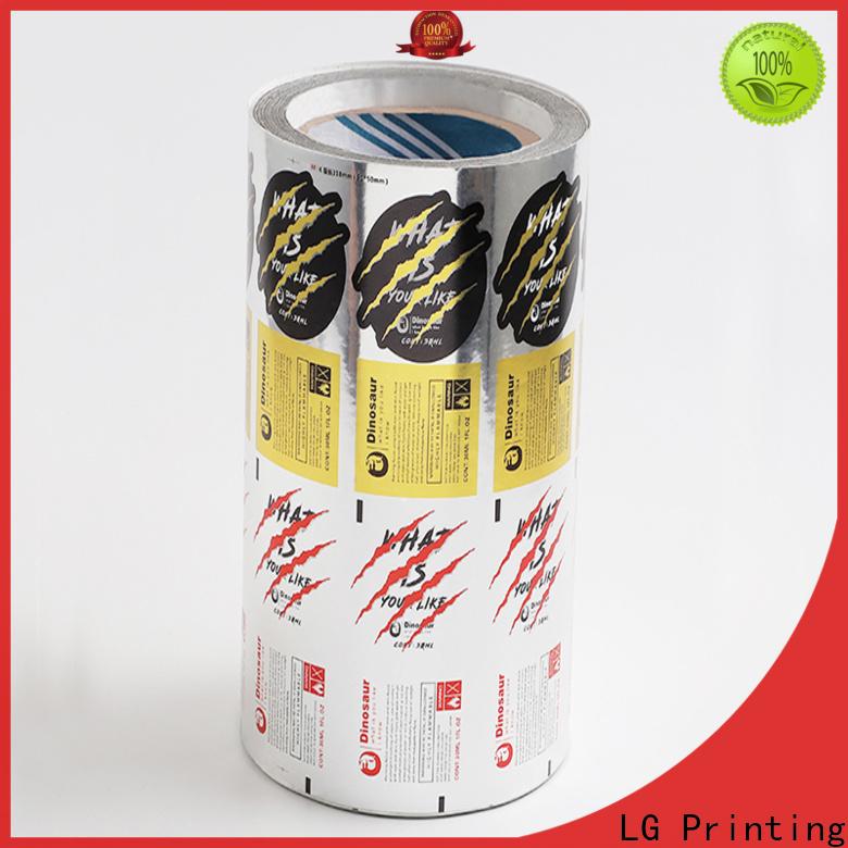 LG Printing hologram professional labels for bottles series for bottle