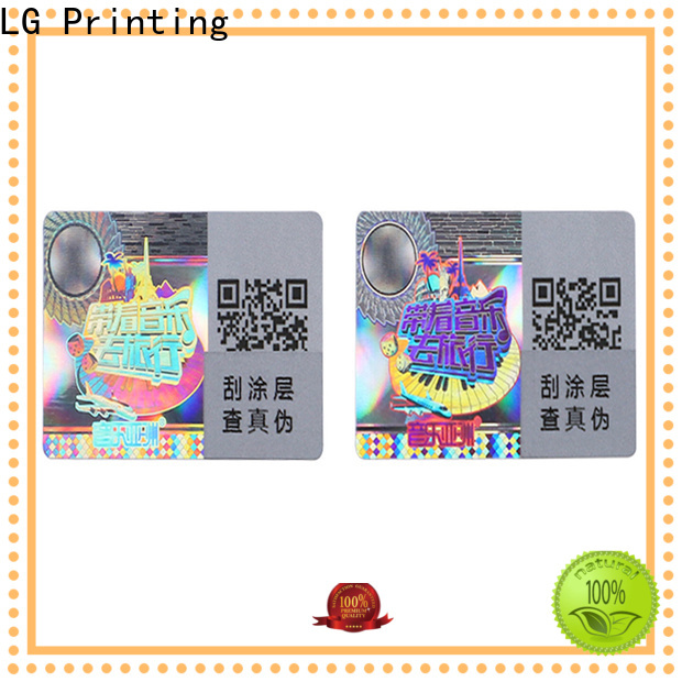 various waterproof sticker label one time supplier for box