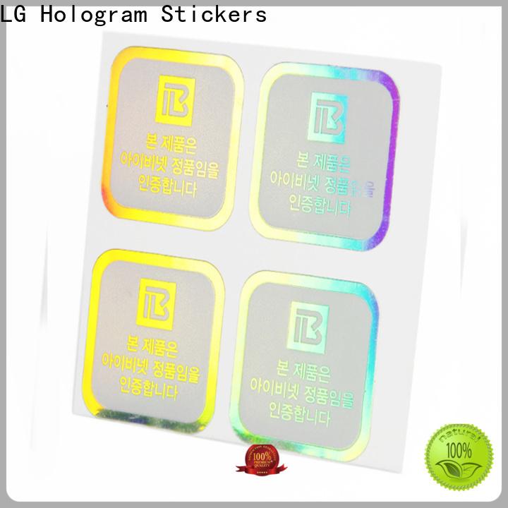 Top supreme holographic sticker company