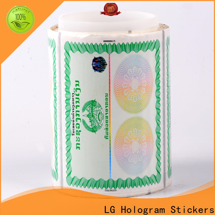 printing buy security stickers printing factory for products