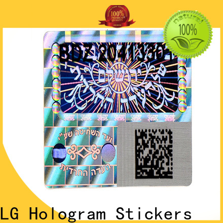 void print your own hologram stickers golden series for table