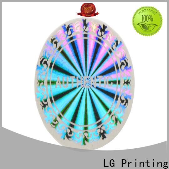 LG Printing colorful hologram sticker machine series for refrigerator