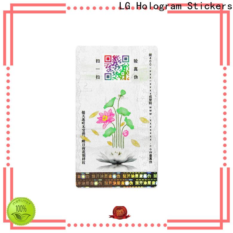 LG Printing paper adhesive labels Supply for bag
