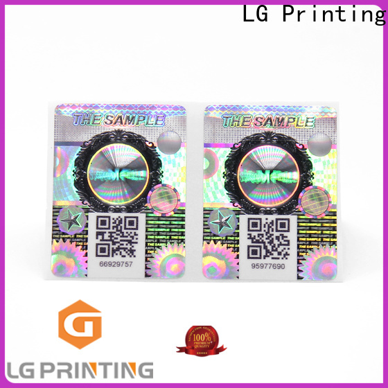LG Printing High-quality tamper evident seal for business for box