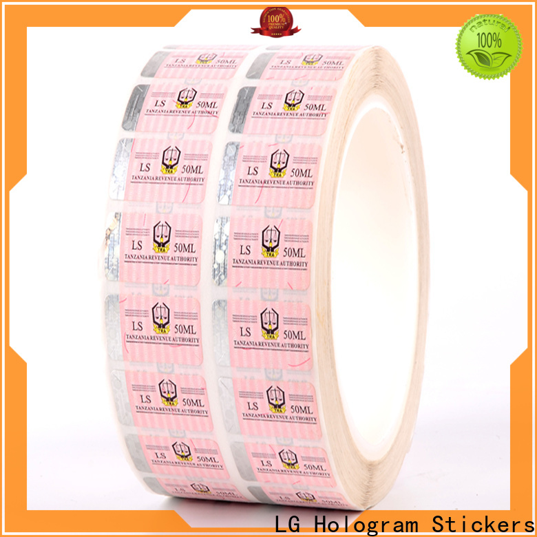 counterfeiting hologram printing number factory for bag