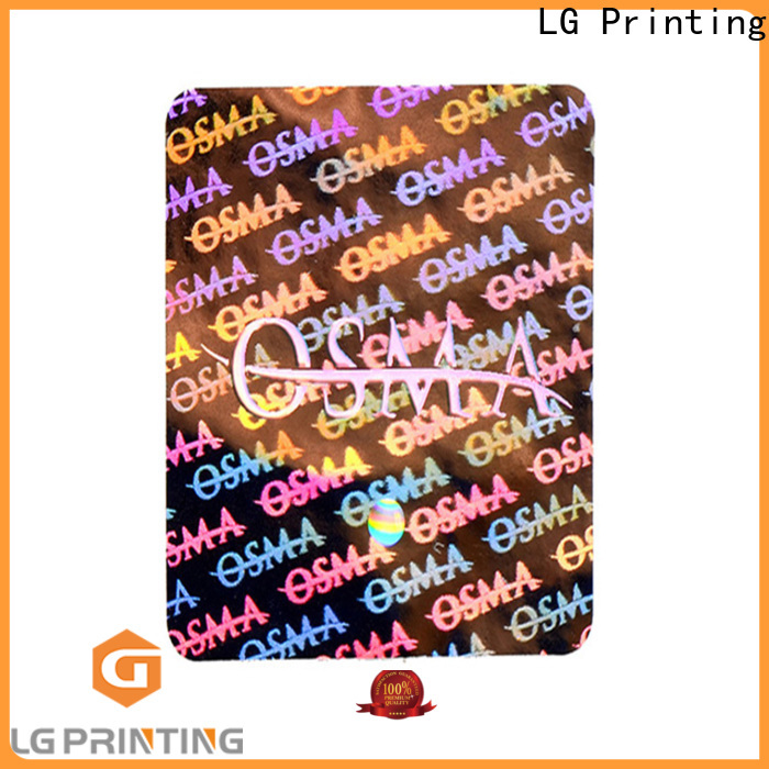 authentic hologram stickers price selfadhesive label for table