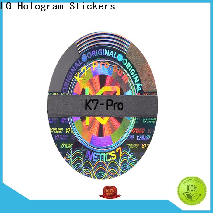 various hologram stickers demelized label for door