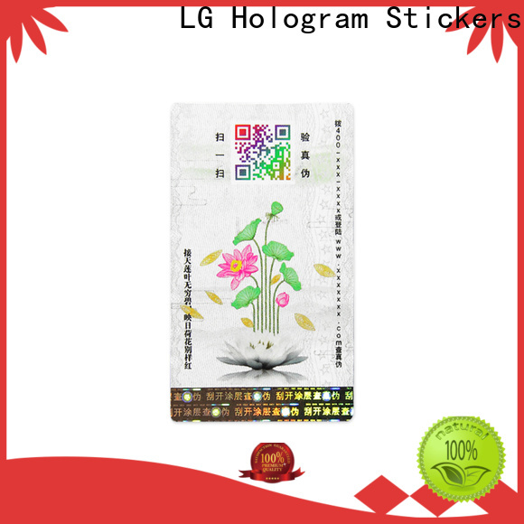 Top adhesive custom label Supply for goods