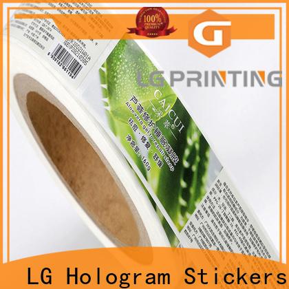 LG Printing metallic wholesale packaging supplies series for wine bottle