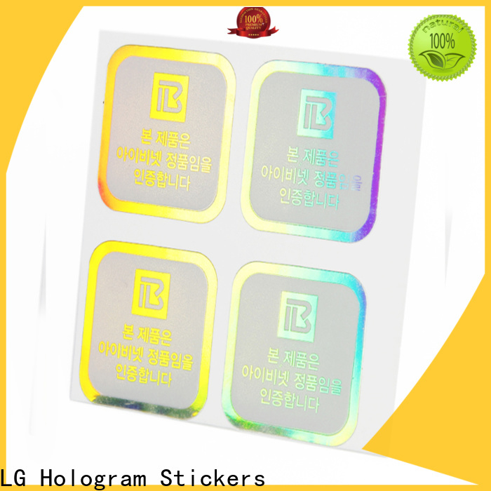 LG Printing holographic letter stickers Suppliers