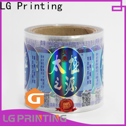 LG Printing High-quality holographic vinyl sticker Supply