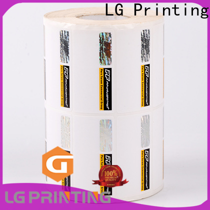 LG Printing positioned custom size label printing supplier for goods
