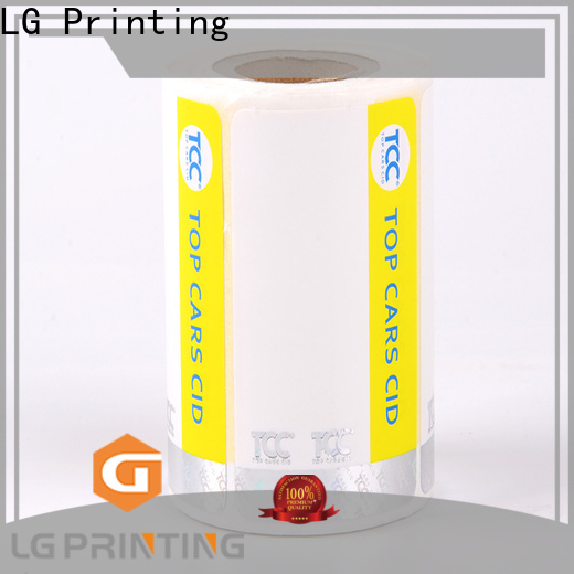 LG Printing UV security hologram stickers supplier for box