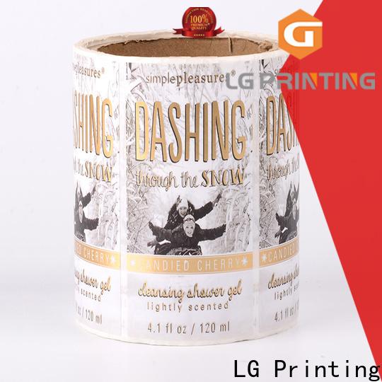 transparent shipping label printer red manufacturer for wine bottle