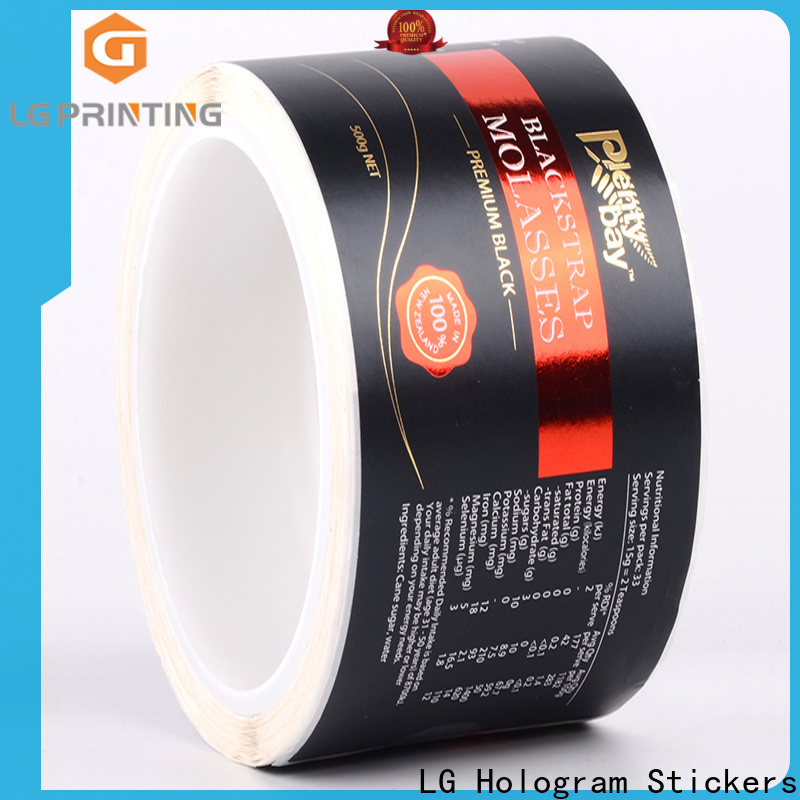 glossy retail packaging pvc supplier for wine bottle