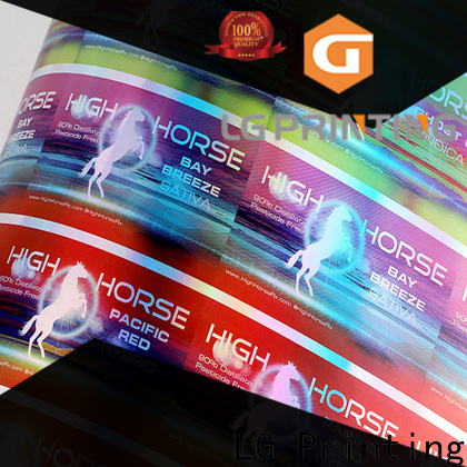 Wholesale custom holographic prints for business