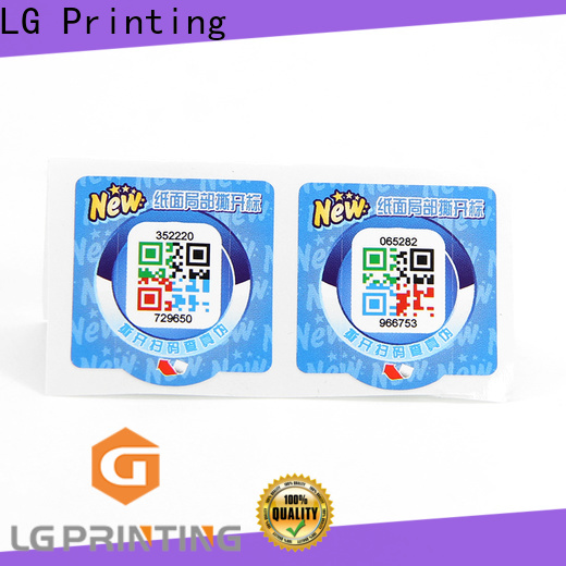 LG Printing rfid anti counterfeiting manufacturers for products