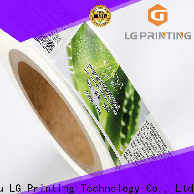 LG Printing foil wholesale packaging supplies series for bottle